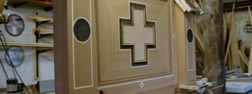 Hhochwertige Holzobjekt der Holz- und Möbelrestaurierung Oliver Krause
